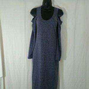 ASOS Purple Cold Shoulder Dress Size 6